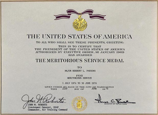 air force meritorious service medal template